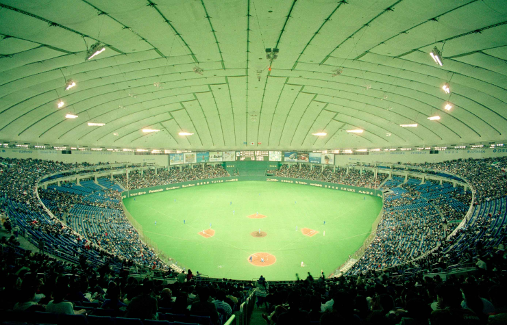 The interior of Tokyo Dome