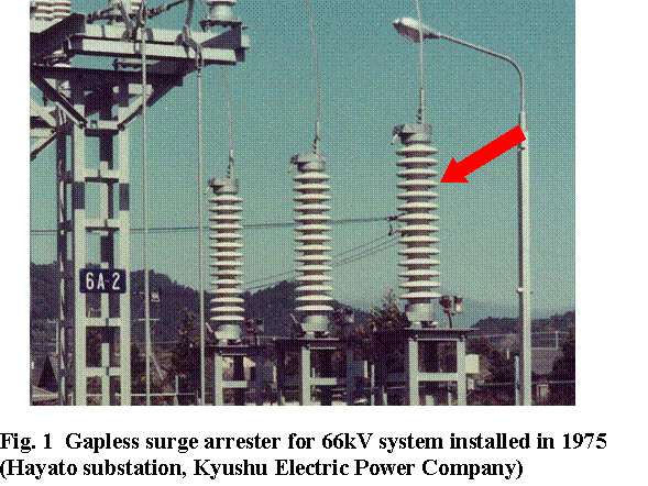 Dbnstj Development Of Gapless Surge Arresters For
